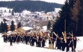 Nostalgie-Skirennen in Sankt Englmar